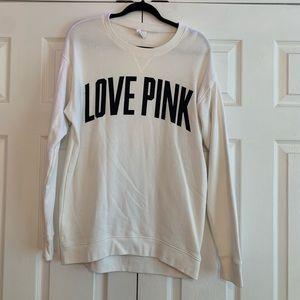 Love Pink crewneck